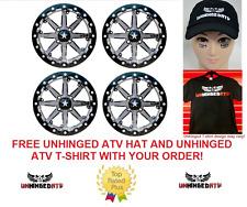 "MSA-(QTY 4)M21 Lok Beadlock Wheels ATV & UTV Wheels 14""Can-Am Renegade Outlander"