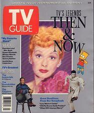 TV Guide Magazine 1991 Lucille Ball Bart Simpson 080417nonjhe