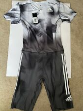 Adidas Adizero Mens Track Field Speedsuit - Large - Running Climachill Dp3944