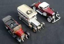 3 x Modell Auto Oldtimer Modelle Rolls Royce, DUGU Fiat, Corci Classics