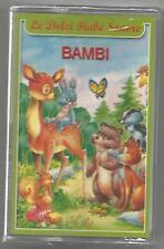 Le dolci Fiabe Sonore - Bambi / Il Drago di fuoco - MC MUSICASSETTA SIGILLATA