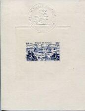 WALLIS et FUTUNA 1946 EPREUVE de LUXE TCHAD AU RHIN (J1644b