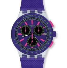 Swatch Chronograph Armbanduhr Yel-lol Chrono SUSJ402