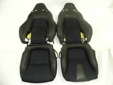2009-2013 for Nissan GTR Black Top/Full Grain Nappa Leather & Nova-Suede Cover