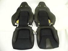 2009-2013 for Nissan GTR Black Top/Full Grain Nappa Leather & Nova-Suede Cover
