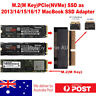 M.2 M-Key PCIe NVMe SSD to 2013-2017 Macbook 12+16 Pin SSD Adapter Converter