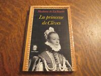 le livre de poche la princesse de cleves - MADAME DE LA FAYETTE