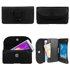 PU Leather Holster Belt Clip Wallet Case Pouch For Apple iPhone 8 Plus / 7 Plus