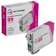 LD Reman T099320 for Epson T099 99 Magenta Ink Cartridge Artisan 700 800 710 835