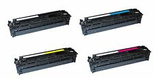 4x XXL Toner für HP CE320A CE321A CE322A CE323A Color Laserjet CP1525