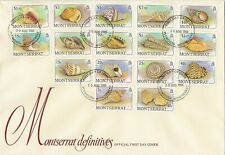 MONTSERRAT 1953-91 PRACTICALLY COMPLETE FDC COLLECTION CAT £750 AS FU (200)