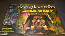 Trivial Pursuit Dvd Star Wars Sega Edition Hasbro 90% complete