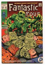 Fantastic Four 85 VF- Doctor Doom (1961) Marvel Comics CBX13