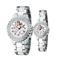 Couple Watches Custom Personalized YOUR PICTURE PHOTO LOGO Wedding Gifts