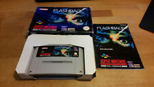 Flashback Super Nintendo SNES OVP pal cib Boxed