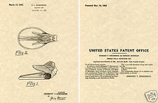 1931 1932 PLYMOUTH HOOD ORNAMENT Patent Print READY TO FRAME!!!! radiator cap