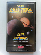The New Solar System An Epic Adventure VHS Space & Science Series Holiday 1994