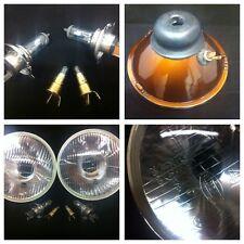 """Mini Clásico HALÓGENO faro Lámpara Kit de conversión Par 7 """"Austin Rover 6j1"""