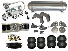 "Air Suspension System 1/4"" 79-95 Toyota Hilux Pickup 4 Path Airbag Kit FBSS"