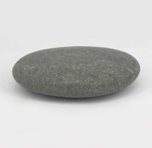 HOT STONE MASSAGE: Jumbo XL Natural Basalt Flat Stone 851-1000g .  14.1x10.4x3.7