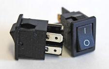 Mini Power Rocker Switch 10A 250V DPST
