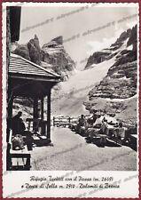 TRENTO RAGOLI 06 RIFUGIO TUCKETT - BRENTA  Cartolina FOTOGRAFICA viaggiata 1957