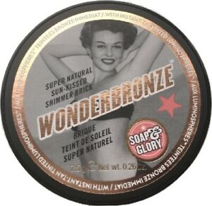 Soap & Glory Wonderbronze Shimmer Brick  - New & Sealed