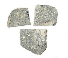 Lake Paasselka Meteorite impact crater impactite breccia in large gem jar