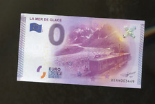 EURO DOLLAR BILL FROM FRANCE LA MER DE GLACE IN CHAMONIX FRANCE MINT