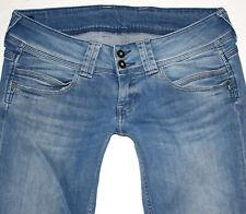 Pepe London Damen Jeans VENUS Straight Leg W30 L34 blau