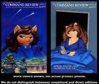 Command Review 1 2 Complete Set Run Lot 1-2 VF