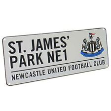 Newcastle United Utd Fußballverein St James Park Stadium Straßenschild 40cmx18cm