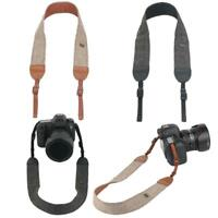 Camera Shoulder Neck Vintage Strap Belt for Sony Nikon Canon Olympus DSLR SN9F