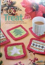 Knitting Pattern to make Cook's Treat - Festive Coasters and Potholder