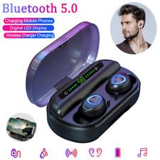 V10 BT5.0 Waterproof Mini Earbuds TWS Wireless LED Earphone InEar Stereo Headset