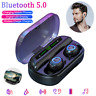 V10 BT5.0 Waterproof Mini Earbuds TWS Wireless LED Earphone InEar Stereo Headset