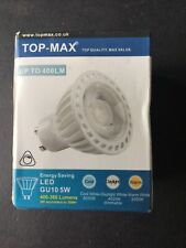 Top-Max H451289D 5W GU10 LED Lamp 6000K Dimmable - New & Boxed