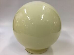 ORIGINAL ART DECO SHADE GLASS LAMP LIGHT DIANA PENDANT CREAM SPHERE ROUND LADY