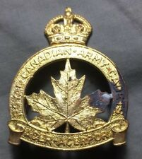 WWII ROYAL CANADIAN ARMY CADETS Canada RCAC cap badge WW2 SCULLY Canadian