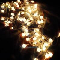 5M LED String Fairy Light Lamp Globe Ball Star Decor for Wedding Christmas Party