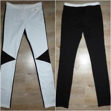 SOCIALIGHT JODHPUR 8 black white SKINNY Stretch pants BUY 3+ ITEMS = FREE POST