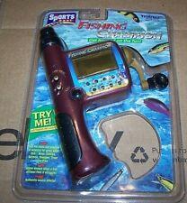 Fishing Champion Electronic Handheld LCD Game Tiger Electronics 1997 NEW RARE