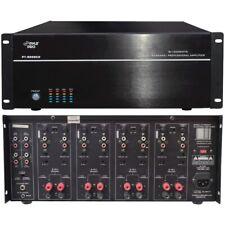 Pyle Pt8000Ch 19In Rack Mount 8000 Watt 8 Channel Stereo/Mono Amplifier