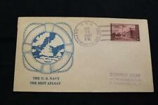 NAVAL COVER 1947 SHIP CANCEL U.S. NAVY BEST AFLOAT USS HAYNSWORTH (DD-700) (583)