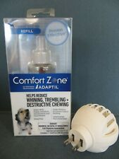 Comfort Zone Dog Calming Adaptil Diffuser and Refill Kit Exp 11/2020