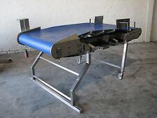 Stainless Steel Motorised Concave Conveyor - Kiremko