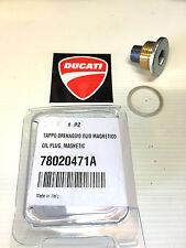 tappo scarico olio Ducati monster 600 620 695 750 900 1000 Hypermotard NO EVO