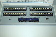 Märklin 4228 Passenger Car Set Rheingold 5-teilig Gauge H0 Boxed