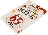 TIN SIGN B749 Scraafs Milk Dairy Kitchen Cottage Farm Retro Rustic Metal Milk