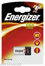 8 x Energizer CR123A CR 123 A K123LA 3V CR17345 Photo Batterie Lithum Foto